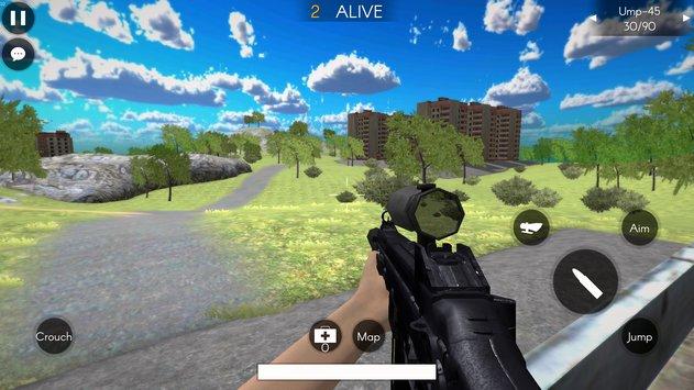 Battleground's Survivor: Battle Royale APK indir [v0.35]