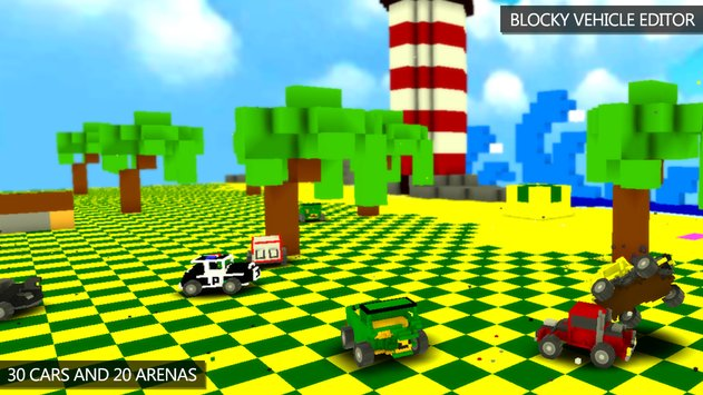 Blocky Demolition Derby APK indir [v1.48]