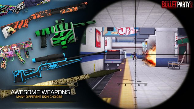 Bullet Party CS 2 : GO STRIKE APK indir [v1.1.9]