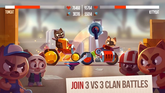 CATS: Crash Arena Turbo Stars APK indir [v2.3]