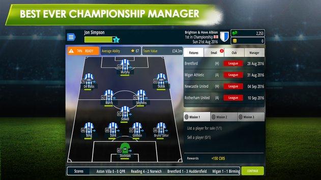 Championship Manager 17 – CM 17 APK indir [v1.3.1.807]