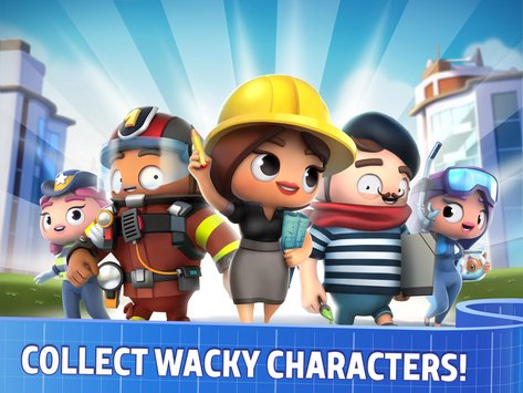 City Mania: Town Building Game APK indir [v1.2.1a]
