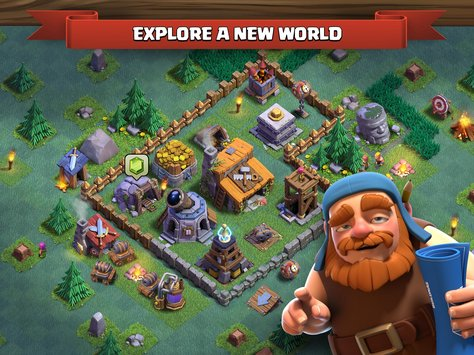 Clash of Clans APK indir [v9.434.18]