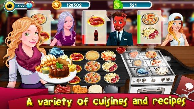 Cooking Games Story Chef Business Restaurant Food APK indir [v1.21]