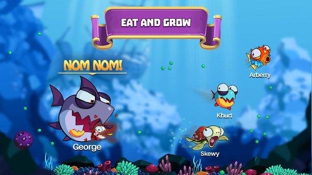 Eatme.io: Hungry fish fun game APK indir [v3.7.2]