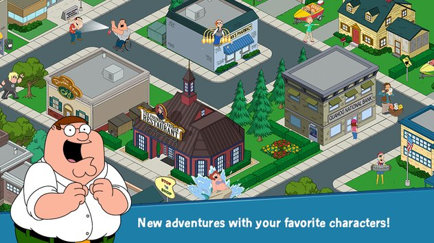 Family Guy The Quest for Stuff APK indir [v1.55.3]
