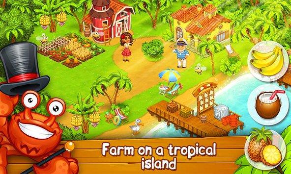 Farm Paradise: Hay Island Bay APK indir [v1.54]