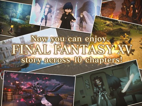 FINAL FANTASY XV POCKET EDITION APK indir [vLatest Version]
