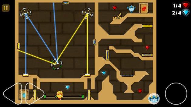 Fireboy in The Light Maze APK indir [v2.9]