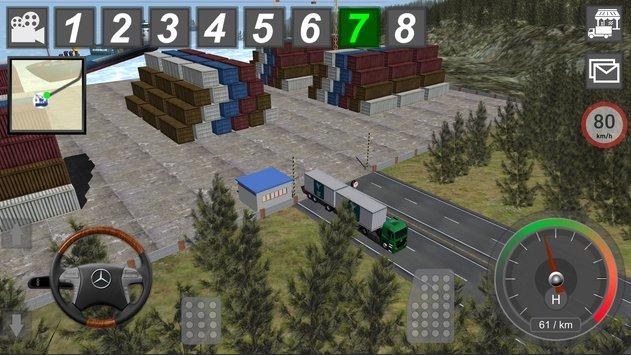 GBD Mercedes Truck Simulator APK indir [v4.91]