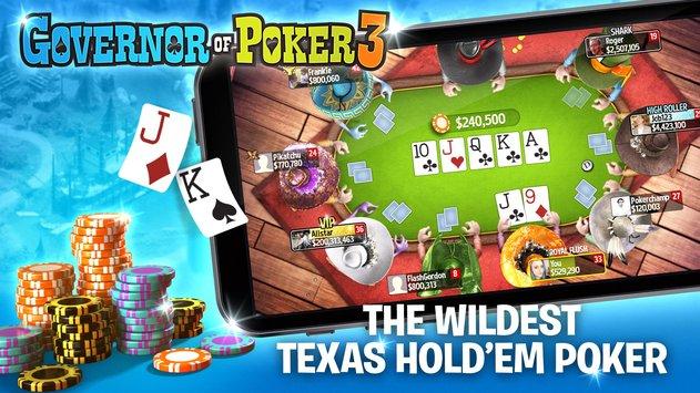 Governor of Poker 3 – Texas Holdem Poker Online APK indir [v3.6.2]
