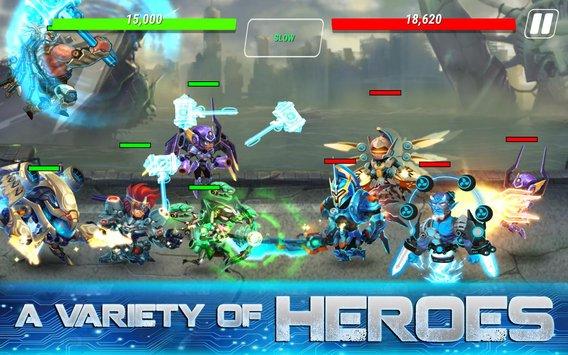 Heroes Infinity: Gods Future Fight APK indir [v1.12.9]