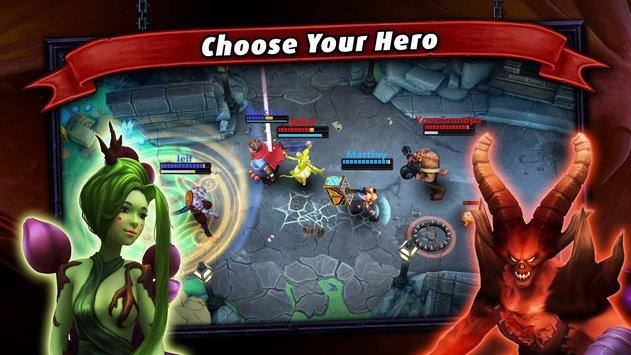 Heroes of SoulCraft – MOBA APK indir [v1.7.7]