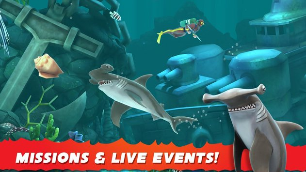 Hungry Shark Evolution APK indir [v5.4.0]