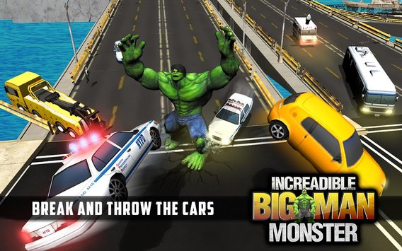 Incredible Monster Big Man Fighting Hero APK indir [v1.7]