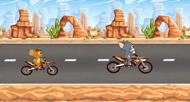 Jerry Moto Race And Tom APK indir [v2.2]