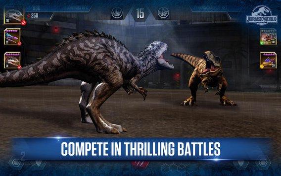 Jurassic World™: The Game APK indir [v1.16.15]