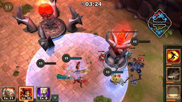 Legendary Heroes MOBA APK indir [v3.0.17]