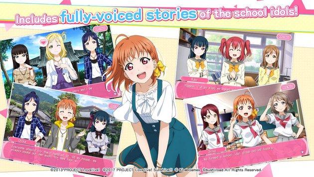 LoveLive! School idol festival APK indir [v5.2.0]