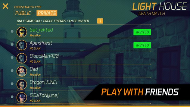 MaskGun ® – Multiplayer FPS APK indir [v2.086]