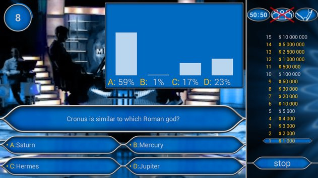 Millionaire Quiz Free: Be Rich APK indir [v2.5.1]