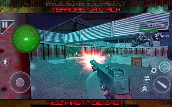 Modern Combat Terrorist Attack APK indir [v4.215]
