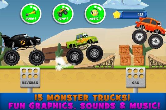 Monster Trucks Game for Kids 2 APK indir [v2.3.5]