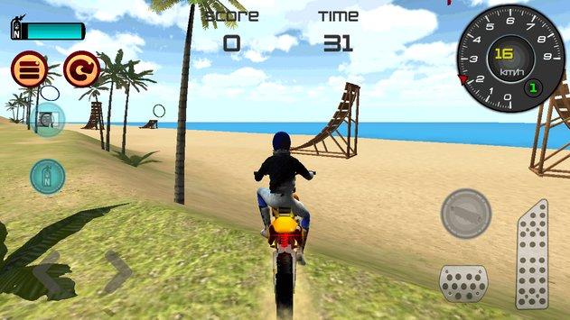 Motocross Beach Jumping 3D APK indir [v1.6]