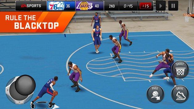 NBA LIVE Mobile Basketball APK indir [v2.1.1]