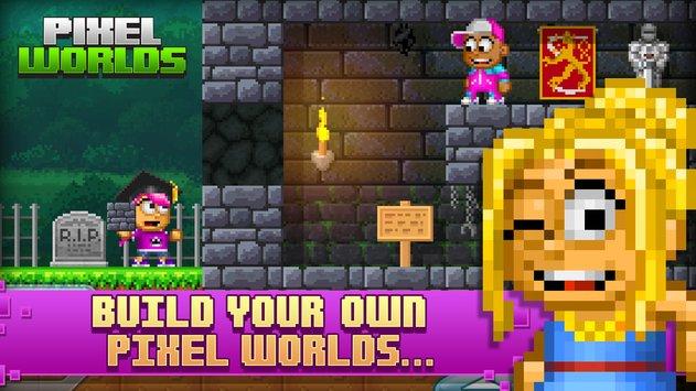 Pixel Worlds APK indir [v1.1.11]