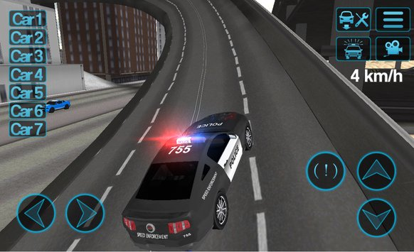Police Car Driving Sim APK indir [v1.54]