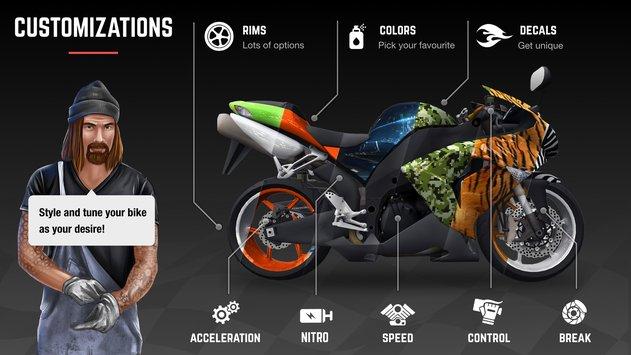 Racing Fever: Moto APK indir [v1.2.7]