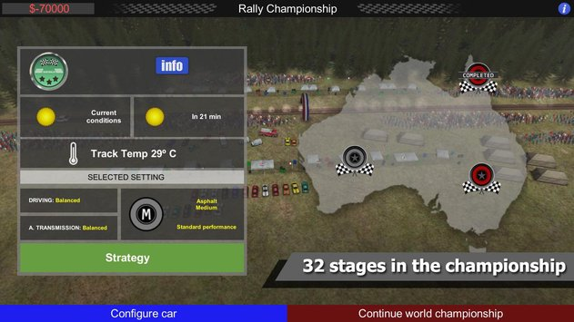 Rally Manager Mobile Free APK indir [v1.0.5]