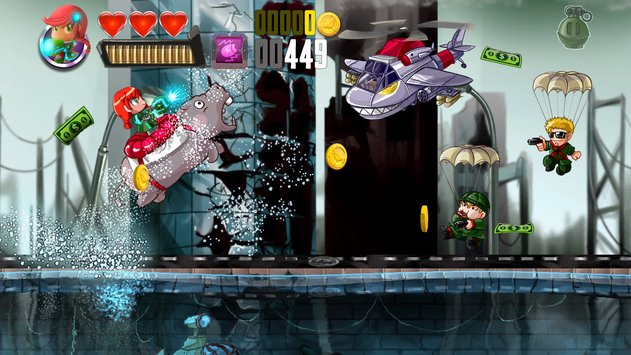 Ramboat – Jumping Shooter Game APK indir [v3.13.11]