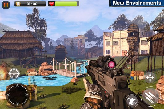Real Commando Secret Mission APK indir [v2.0.2]