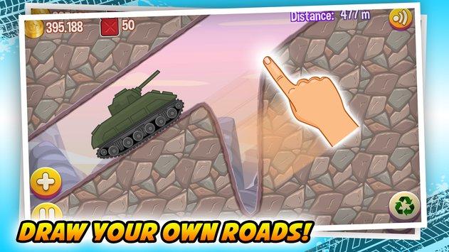 Road Draw: Climb Your Own Hills APK indir [v1.5.9]