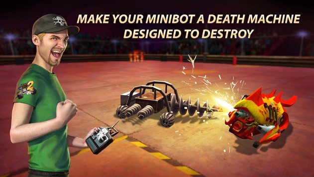 Robot Fighting 2 – Minibots 3D APK indir [v1.2.6]