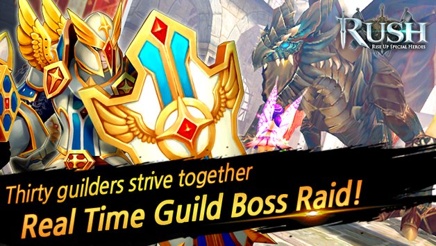 RUSH : Rise up special heroes APK indir [v1.0.75]