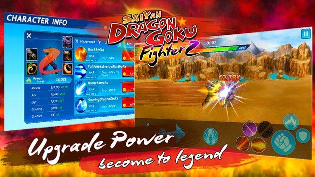 Saiyan Dragon Goku: Fighter Z APK indir [v1.2.0]