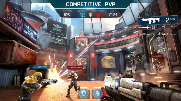 Shadowgun Legends APK indir [v0.1.2]