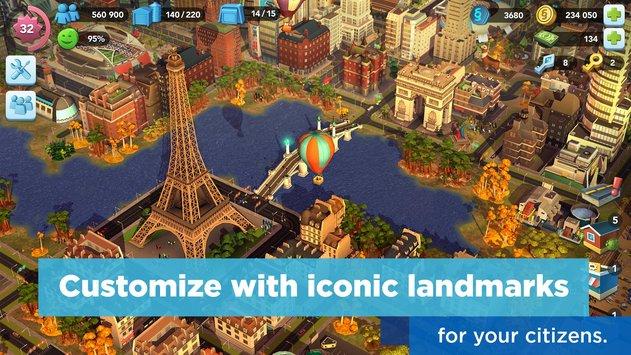 SimCity BuildIt APK indir [v1.19.2.65409]