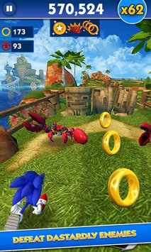 Sonic Dash APK indir [v3.7.5.Go]