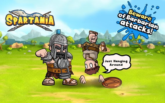 Spartania: Casual Strategy APK indir [v2.74]