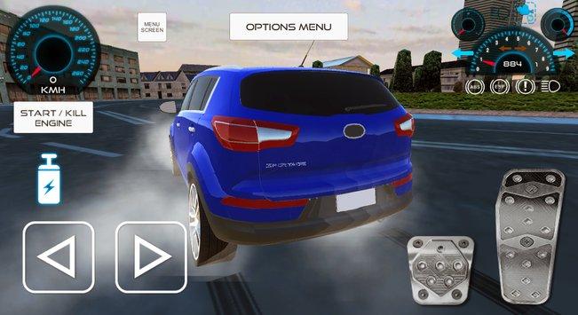 Sportage Driving Simulator City APK indir [v1.10]