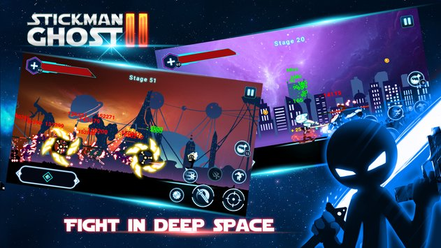 Stickman Ghost 2: Galaxy Wars APK indir [v4.0.3]