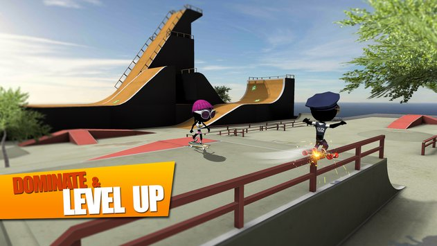 Stickman Skate Battle APK indir [v1.2.5]