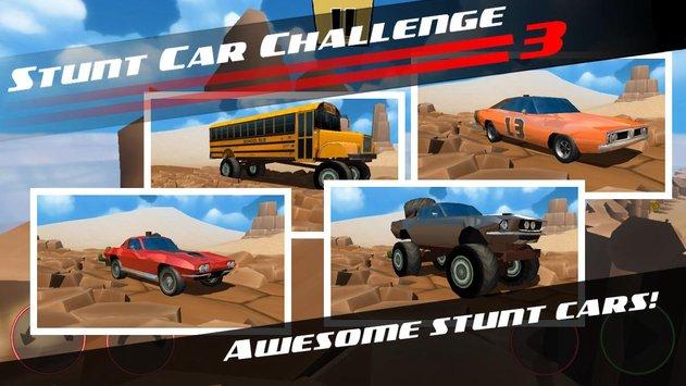 Stunt Car Challenge 3 APK indir [v2.11]