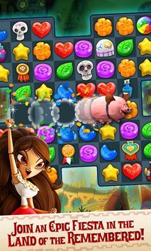 Sugar Smash: Book of Life – Free Match 3 Games APK indir [v3.37.113.710051751]