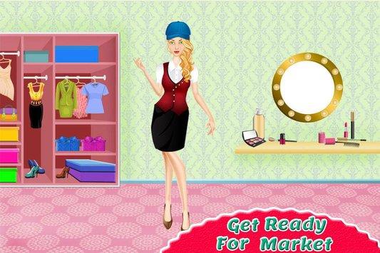 supermarket shopping girl APK indir [v3.0]