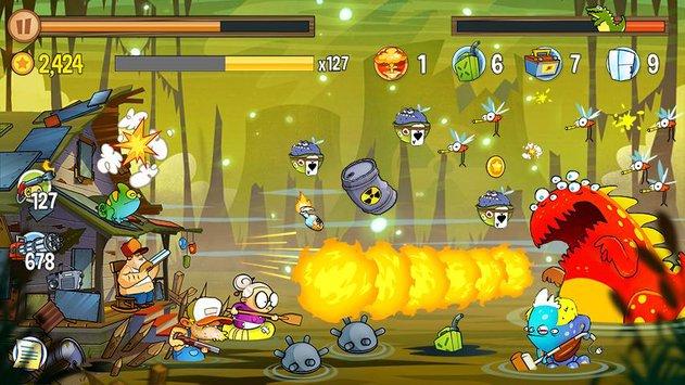 Swamp Attack APK indir [v2.2.2]